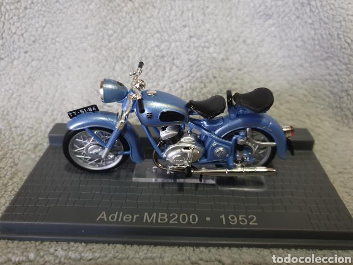 MOTO ADLER MB200 1952 (Juguetes - Motos a Escala)