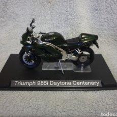 Motos a escala: MOTO TRIUMPH 955I DAYTONA CENTENARY. Lote 189759490