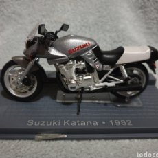 Motos a escala: MOTO SUZUKI KATANA 1982. Lote 189762233