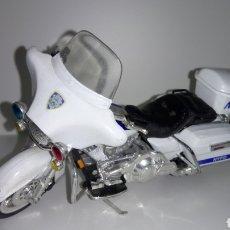 Motos em escala: MOTO HARLEY - DAVIDSON. NEW YORK POLICE. COLECCIÓN MAISTO. ESCALA 1 :18.. Lote 191330283