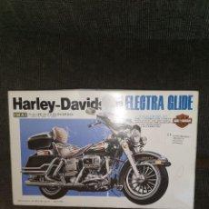Motos a escala: MOTO A ESCALA 1/12. HARLEY DAVIDSON ELECTRAGLIDE. IMAI. 1991. Lote 191668162