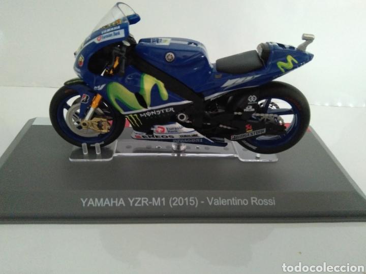 YAMAHA YZF-M1 (2015) VALENTINO ROSSI (Juguetes - Motos a Escala)