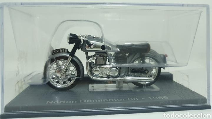 MOTO NORTON DOMINATOR 88 DE 1956. (Juguetes - Motos a Escala)