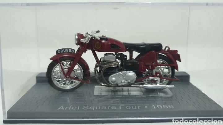MOTO ARIEL SQUARE FOUR DE 1956. (Juguetes - Motos a Escala)