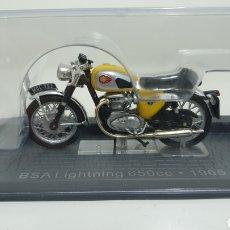 Motos a escala: MOTO BSA LIGHTNING 650CC DE 1965. Lote 193182298