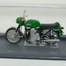 Motos a escala: MOTO MUNCH MAMMOTH DE 1967.. Lote 193182573