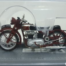Motos a escala: MOTO TRIUMPH SPEED TWIN DE 1938.. Lote 193183055