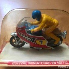 Motos in scale: ANTIGUA MOTO CARRERAS GUISVAL HONDA SIN ABRIR. Lote 194488945