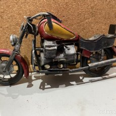 Motos a escala: ANTIGUA MOTO EN METAL - 30CMX20CM - - VER LAS FOTOS. Lote 195450166