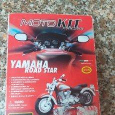 Motos a escala: YAMAHA ROAD STAR 1/18 BURAGO. Lote 195512821