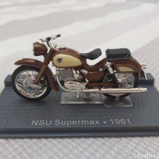 Motos a escala: NSU SUPERMAX 1961 ALTAYA IXO - NO HARLEY BULTACO MONTESA DERBI. Lote 195521896
