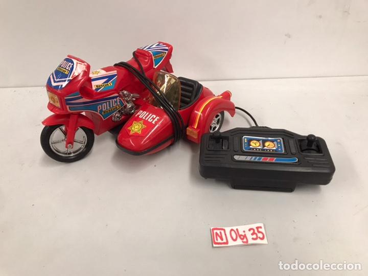 MOTO POLICÍA TELEDIRIGIDA (Juguetes - Motos a Escala)
