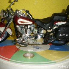 Motos a escala: HARLEY DAVIDSON,ACABADO IMPRESIONANTE,11 X 23 CMS.. Lote 195767646