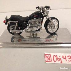 Motos a escala: MOTO HARLEY DAVIDSON. Lote 196037321