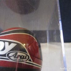 Motos in scale: MINIATURA CASCO RANDY MAMOLA 1988 (ALTAYA). Lote 196886330