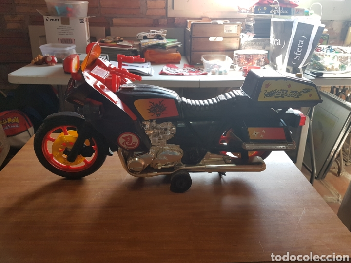 HONDA GOLDWING 1200/YAMAHA/KAWASAKI, MOTO VINTAGE GRAN ESCALA MARCA TOYS WORLD, usado segunda mano