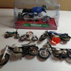 Motos a escala: LOTE DESPIECE MOTOS NACORAL Y OTRAS. Lote 198601403