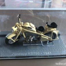 Motos a escala: ZÜNDAPP KS750 - 1941. Lote 202326392