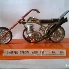 Motos a escala: GUILOY MOTO CHOPPER SPECIAL WILD CAT. Lote 203168395