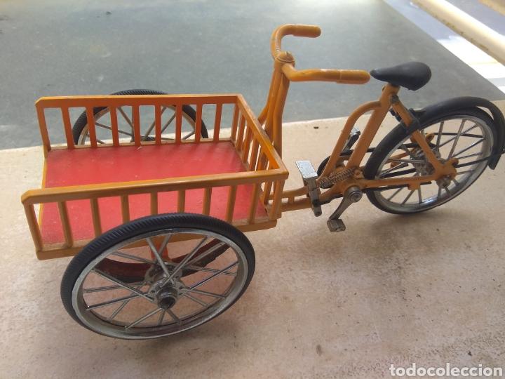 Motos a escala: Preciosa Bicicleta de Reparto VA Modelo Patentado - Funcional - - Foto 2 - 203724591