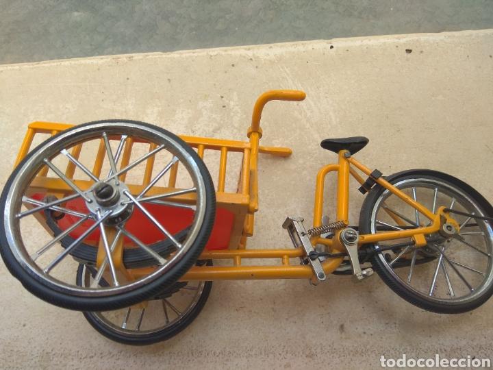 Motos a escala: Preciosa Bicicleta de Reparto VA Modelo Patentado - Funcional - - Foto 3 - 203724591