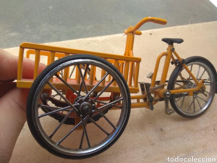 Motos a escala: Preciosa Bicicleta de Reparto VA Modelo Patentado - Funcional - - Foto 4 - 203724591