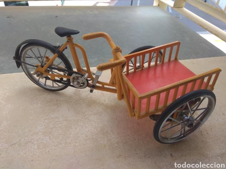Motos a escala: Preciosa Bicicleta de Reparto VA Modelo Patentado - Funcional - - Foto 5 - 203724591