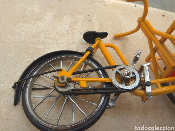 Motos a escala: Preciosa Bicicleta de Reparto VA Modelo Patentado - Funcional - - Foto 7 - 203724591