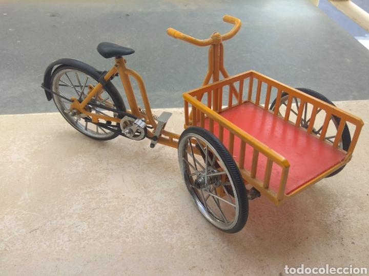 Motos a escala: Preciosa Bicicleta de Reparto VA Modelo Patentado - Funcional - - Foto 8 - 203724591