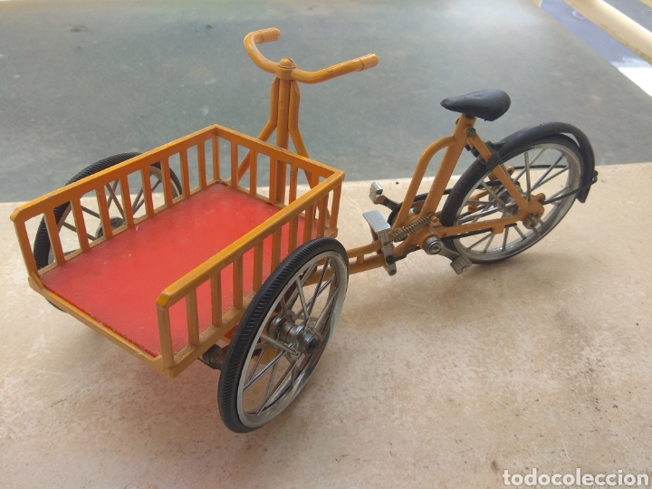 Motos a escala: Preciosa Bicicleta de Reparto VA Modelo Patentado - Funcional - - Foto 9 - 203724591