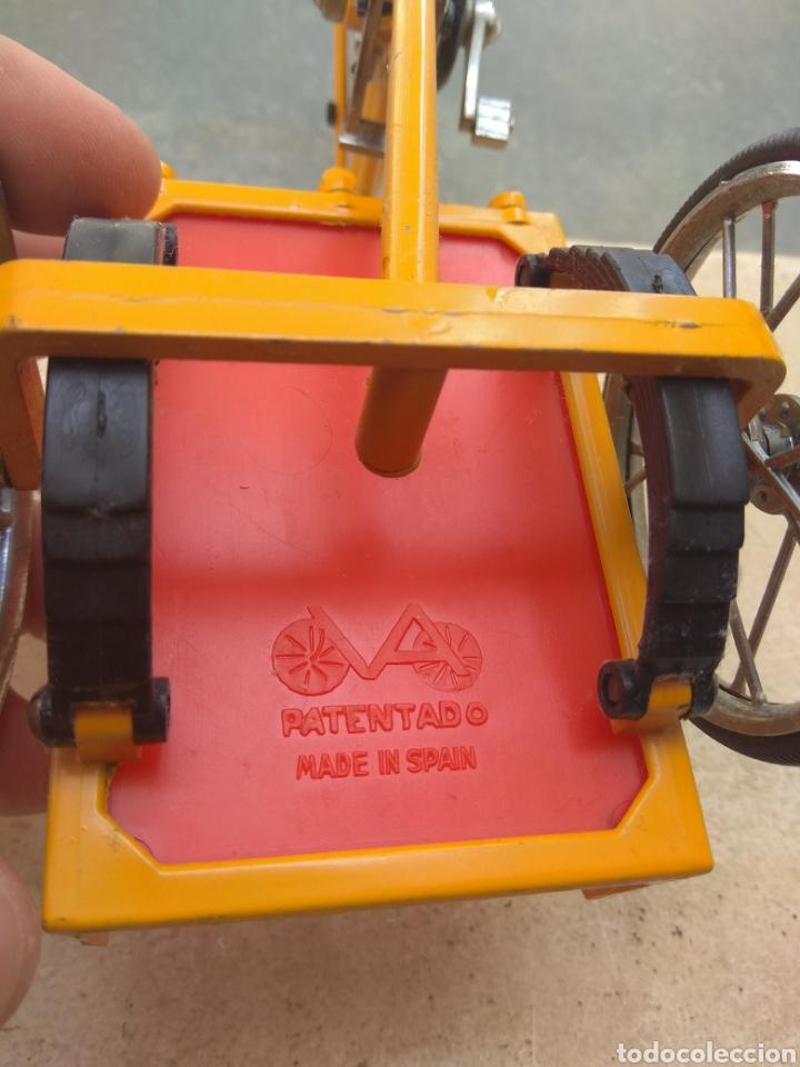 Motos a escala: Preciosa Bicicleta de Reparto VA Modelo Patentado - Funcional - - Foto 10 - 203724591