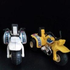 Motos a escala: 2 MOTO QUAD - DE LOS AÑOS 80. Lote 204445788