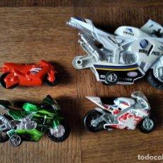 Motos a escala: MOTOS DE CARRETERA GP, LOTE DE 4 VEHICULOS -. Lote 205010381