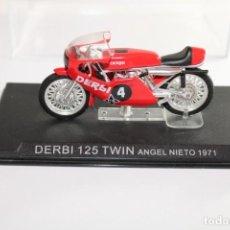 Motos in scale: DERBI 125 TWIN ANGEL NIETO 1971. Lote 205187916