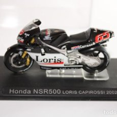 Motos a escala: HONDA NSR500 LORIS CAPIROSSI 2002. Lote 205188670