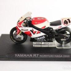 Motos in scale: YAMAHA R7 NORIYUKI HAGA 2000. Lote 205191023
