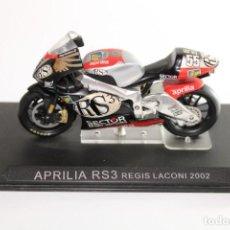 Motos in scale: APRILIA RS3 REGIS LACONI 2002. Lote 205191381