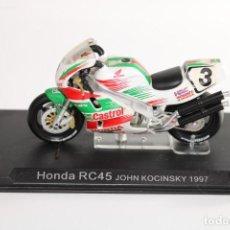 Motos in scale: HONDA RC45 JOHN KOCINSKY 1997. Lote 205191552