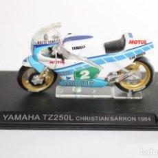 Motos in scale: YAMAHA TZ250L CHRISTIAN SARRON 1984. Lote 205191925