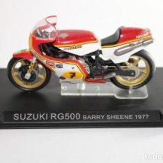 Motos in scale: SUZUKI RG500 BARRY SHEENE 1977. Lote 205193926