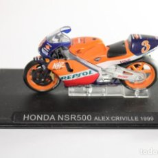 Motos in scale: HONDA NSR500 ALEX CRIVILLE 1999. Lote 205194072