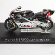 Motos in scale: HONDA NSR 500 ALEX BARROS 2001. Lote 205194368