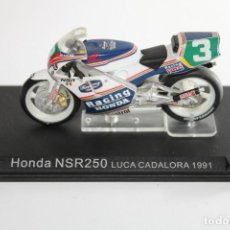 Motos in scale: HONDA NSR250 LUCA CADALORA 1991. Lote 205194512