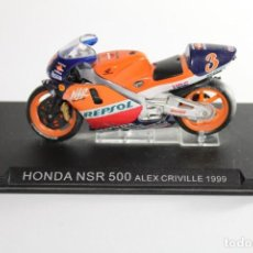 Motos in scale: HONDA NSR 500 ALEX CRIVILLE 1999. Lote 205194845