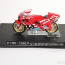 Motos in scale: DERBI 125GP JORGE MARTINEZ ASPAR 1988. Lote 205194968