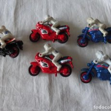 Motos a escala: LOTE MOTOS COLECCIÓN SIRO AÑOS 80. Lote 205591406