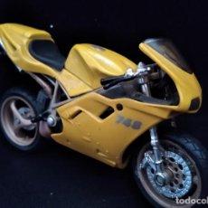 Motos a escala: MOTO DUCATI 748 - MAISTO AÑOS 80- 12X8X3CM.. Lote 205703242