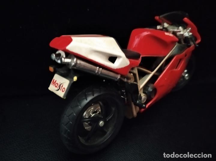 Motos a escala: MOTO DUCATI 996 - MAISTO AÑOS 80- 12X8X3CM. - Foto 2 - 205703351