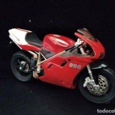 Motos a escala: MOTO DUCATI 996 - MAISTO AÑOS 80- 12X8X3CM.. Lote 205703351
