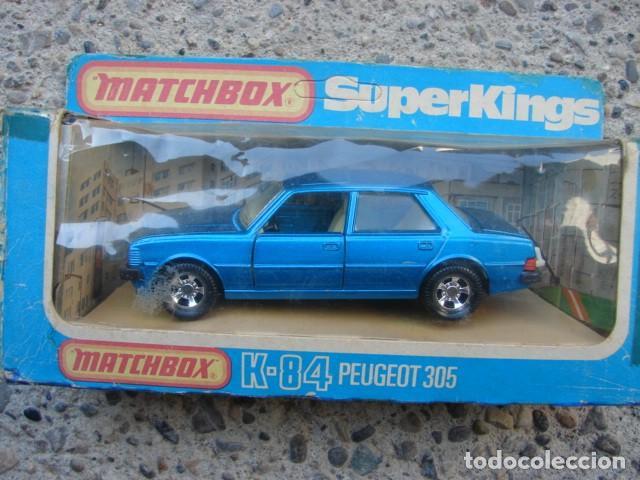 PEUGEOT 305 - SERIE SUPER KINGS - MATCHBOX (Juguetes - Motos a Escala)